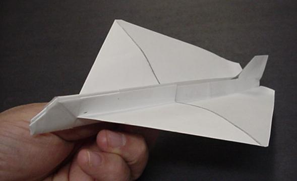 Paper Plane with Airfoil