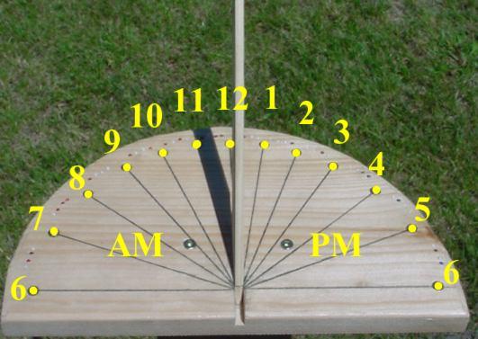 build a sundial design a sundial