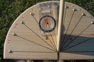 Lovely Sundial With Compass